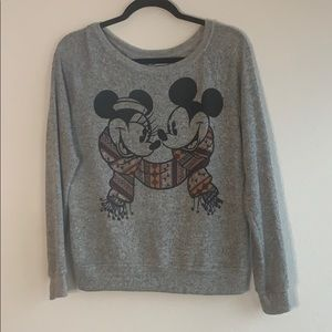 Authentic Disney Mickey and Minniesweat shirt